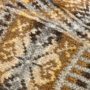 Fair Isle mittens detail