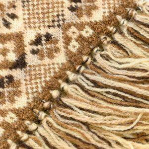 Fair Isle scarf detail