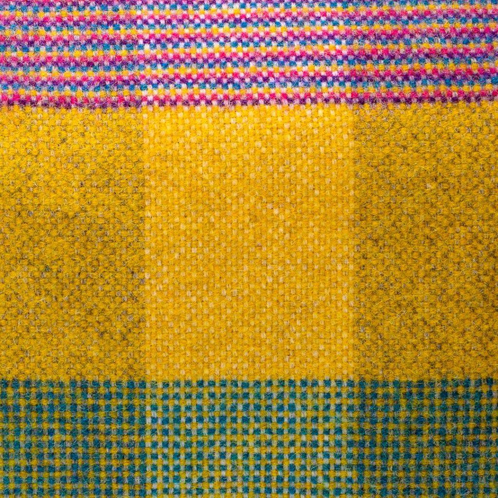 Wool blanket detail